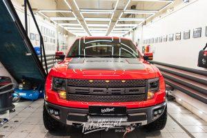 Ford F150 Raptor SVT полировка лкп кузова
