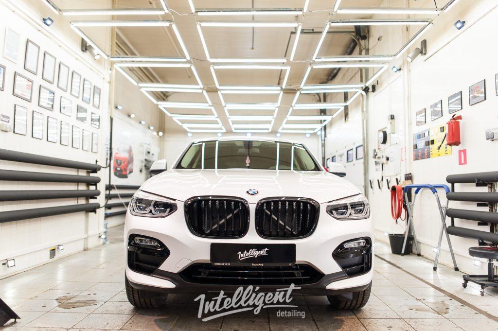 BMW X4 полировка лкп кузова