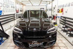 BMW X5 M полировка лкп кузова
