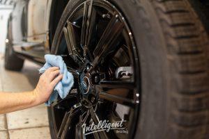 полировка и керамика Range Rover Sport intelligent detailing
