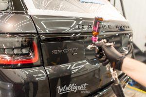 Range Rover Sport - полировка и керамика 2+2