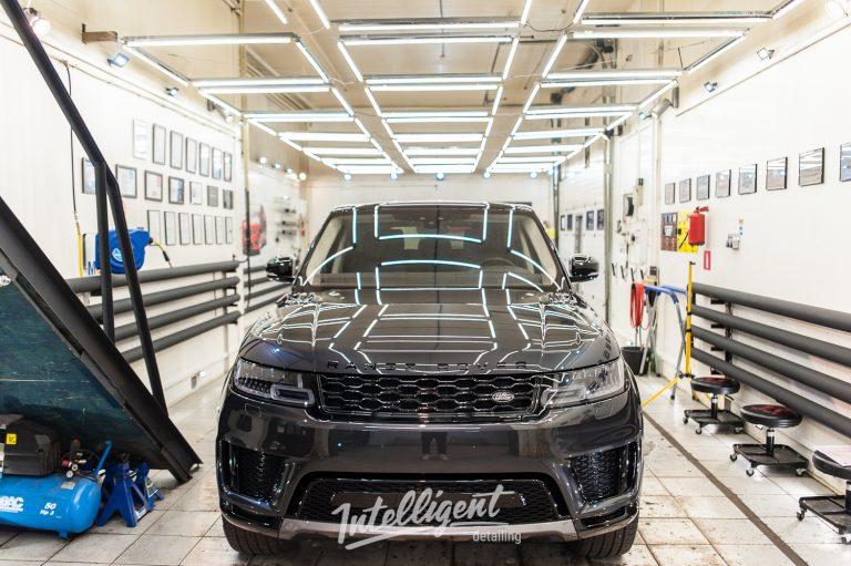 Range Rover Sport полировка и керамика 2+2