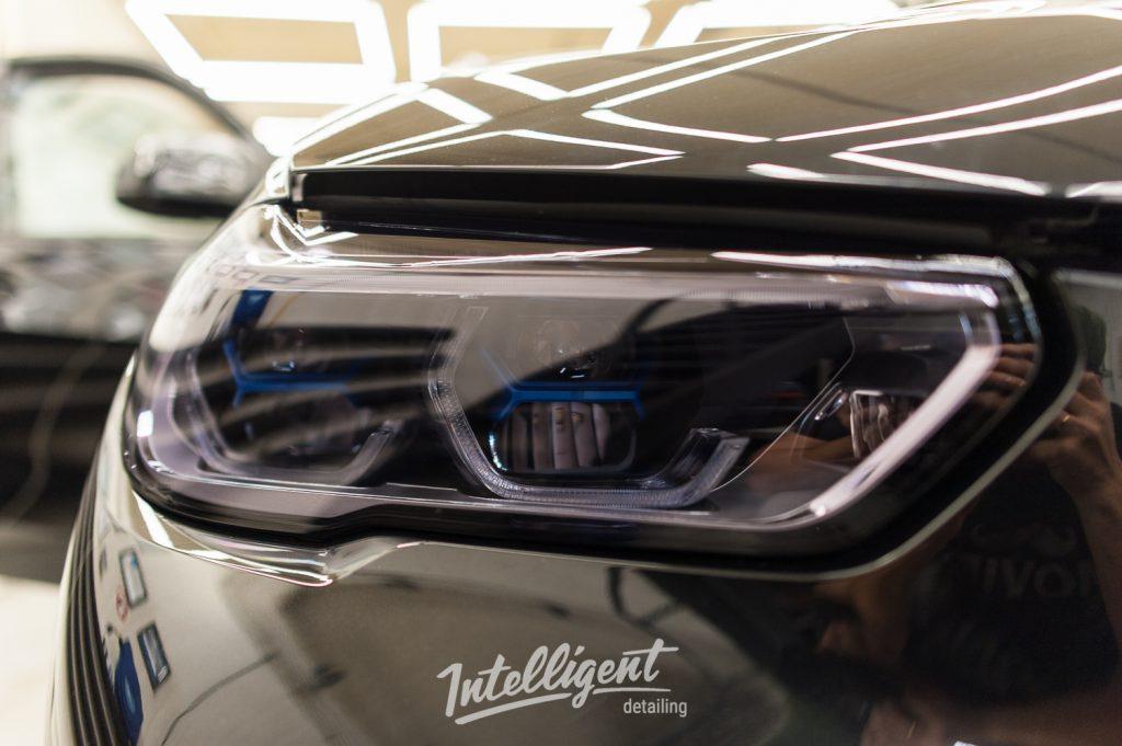 BMW X5 - тонировка фар