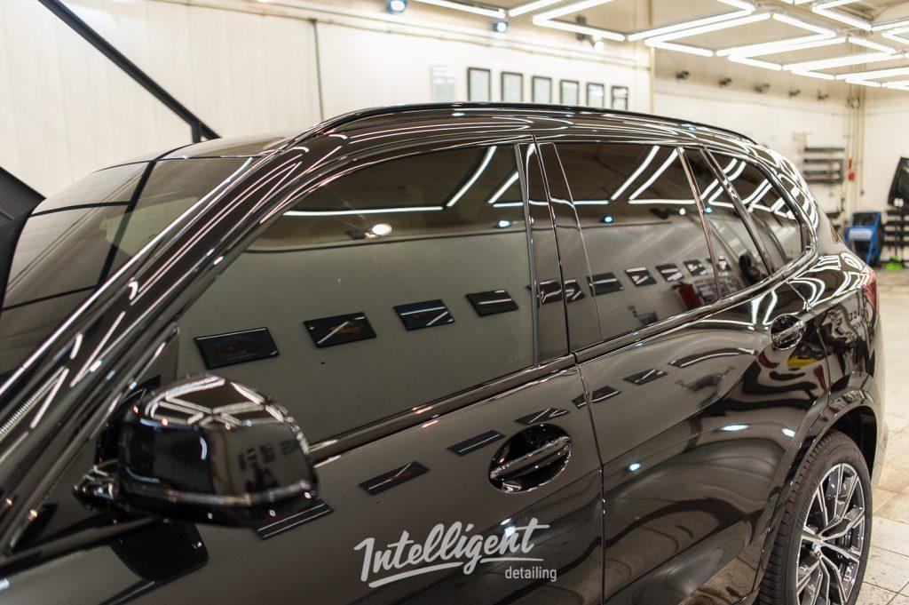 BMW X5 — тонировка стекол