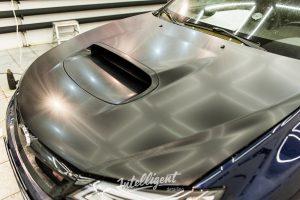 Subaru WRX STI оклейка капота