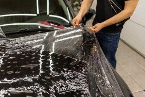 Lexus LX250 оклейка прозрачной пленкой