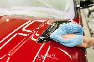 Range Rover Sport в intelligent detailing - полировка и керамика кузова
