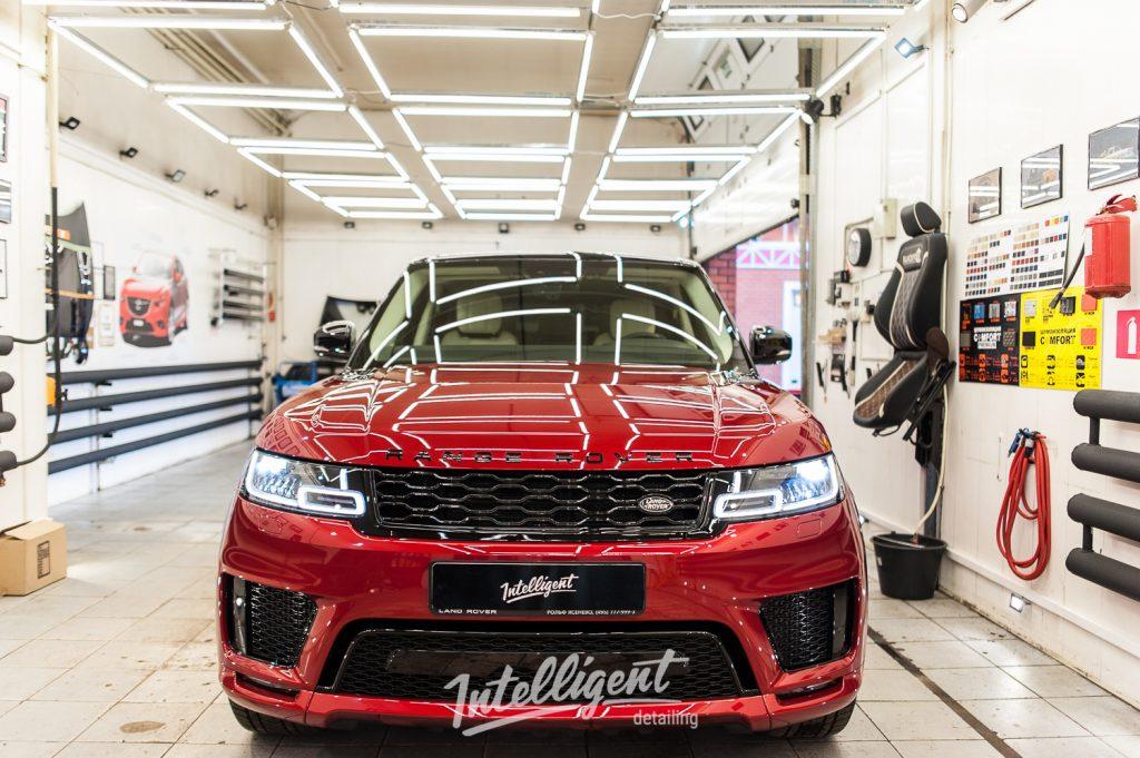 Range Rover Sport полировка лкп кузова