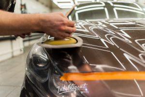 Hyundai Sonata - очистка, полировка и керамика лкп кузова в Intelligent Detailing