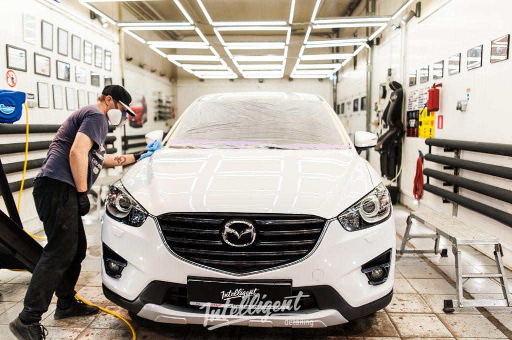 Mazda CX5 - полировка и керамика кузова