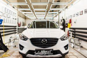 Mazda CX5 полировка и керамика кузова