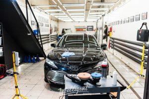 Toyota Camry - полировка и керамика кузова Intelligent detailing