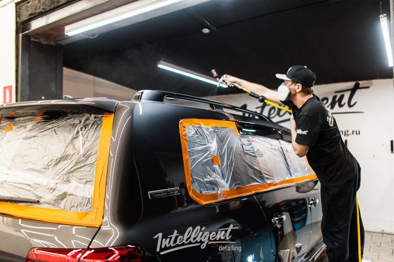 Toyota Land Cruiser 200 жидкое стекло