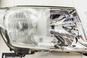 Toyota Land Cruizer 200 шлифовка, полировка, пленка фар