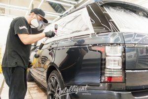 Range Rover Aurobiography - полировка и керамика на авто в intelligent detailing