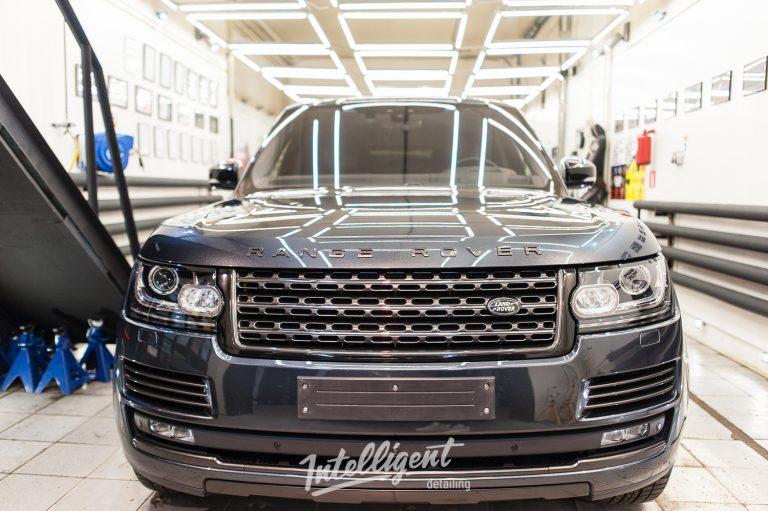 Range Rover Autobiography полировка и керамика