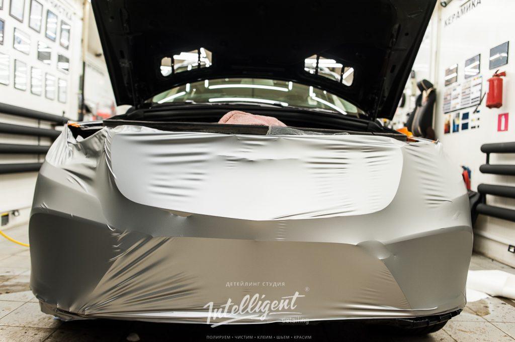 Mercedes GLS - оклейка виниловой пленкой