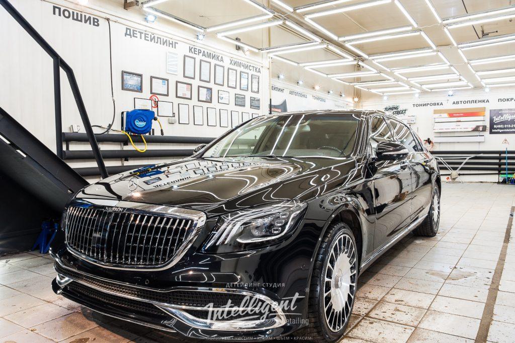 Mercedes Maybach полировка кузова
