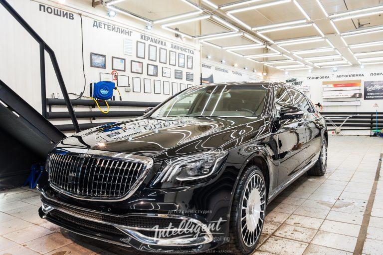 Mercedes Maybach керамика кузова