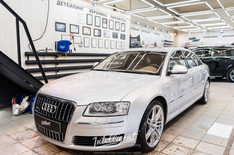 Audi A8 W12 керамика кузова