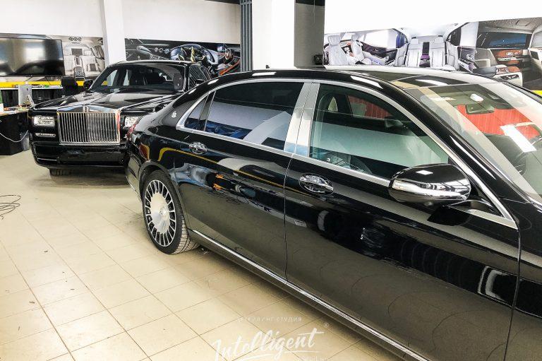 Полировка и покрытие керамикой Rolls-Royce и Maybach