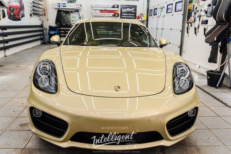 Porsche Cayman керамика кузова авто