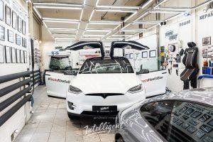 Tesla Model X полировка кузова
