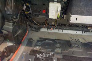 Mercedes S63 химчистка багажника с разбором