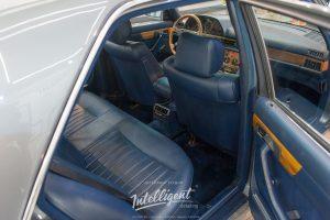 Покраска кожи салона полностью Mercedes 126