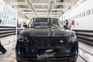 Range Rover антихром, полировка, химчистка.