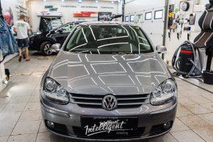 Volkswagen Golf химчистка, шумоизоляция, ремонт потолка