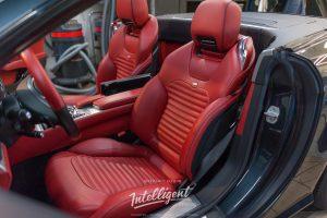 Mercedes SL 55 химчистка , полировка, детейлинг
