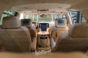 Cadillac Escalade химчистка салона