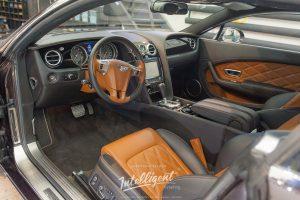 Bentley Continental GT полировка детейлинг покраска сидений кожи