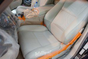 Lexus LS 460 покраска кожи салона